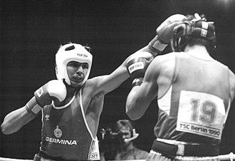 Andreas Zülow - Andreas Zülow (left) battling Japan's Noriyuki Imaoka