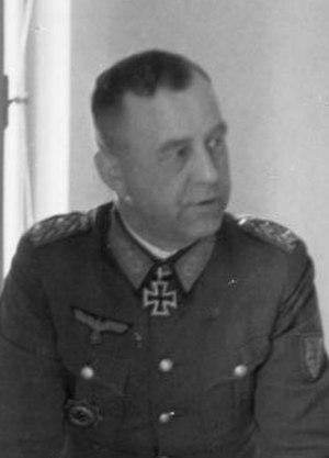 Otto Wöhler - Image: Bundesarchiv Bild 183 2007 0313 500, Rumänien, Otto Wöhler bei Lagebesprechung