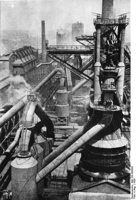 Bundesarchiv Bild 183-R85625, Sowjetunion, Hüttenkombinat in Magnitogorsk