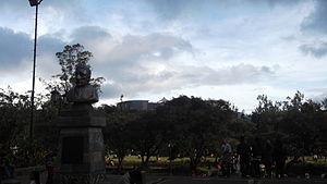 Burnham Park (Philippines) - Bust of Daniel Burnham