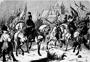 Battle of Byczyna - The Austrian surrender of Archduke Maximilian at Byczyna.
