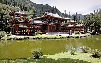 Valley of the Temples Memorial Park - Byodo-In temple.