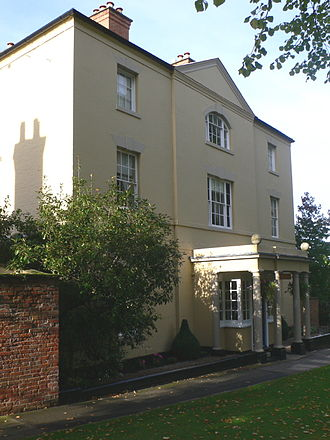 Southwell, Nottinghamshire - Lord Byron's house - Burgage Manor