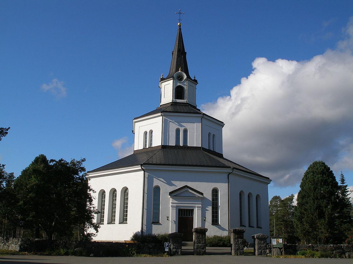 File:Byske, Fllfors kyrka - KMB - unam.net