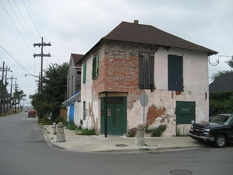 Bacchanal Wine and Spirits, in the Bywater, New Orleans