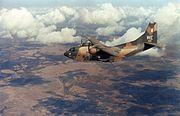 C-123K 19 ACS over Mekong Delta 1969