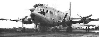 61st Air Base Wing - C-124 Globemaster II at Hickam AFB in 1967