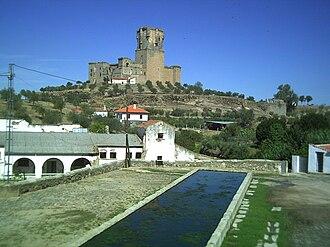 Belalcázar, Spain - Castle of the Sotomayor and  Zuñiga.