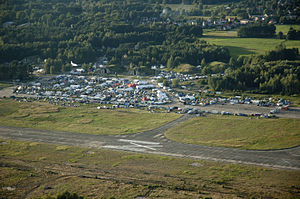 Chaos Communication Camp - Chaos Communication Camp 2011 Aerial shot