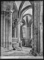 CH-NB - Lausanne, Cathédrale protestante Notre-Dame, vue partielle intérieure - Collection Max van Berchem - EAD-7303.tif