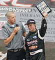 CJ Greaves interviewed after 2011 TORC Super Buggy win at Oshkosh.jpg