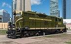 CN 4803 in Roundhouse Park, Toronto 20170417 1.jpg