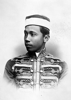 Sultanate of Serdang - A sultan of Serdang