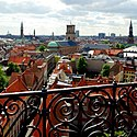 CPH Rundetaarn - view towards the Copenhagen Cathedral.jpg
