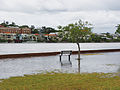CSIRO ScienceImage 2121 A bench at a park submerged from rising water levels.jpg