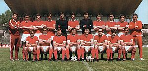 PFC CSKA Sofia - CSKA Sofia in 1973