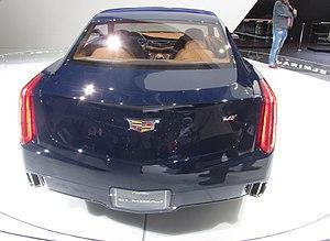 Cadillac Elmiraj - Image: Cadillac Elmiraj Concept IAA2013 back LWS2810