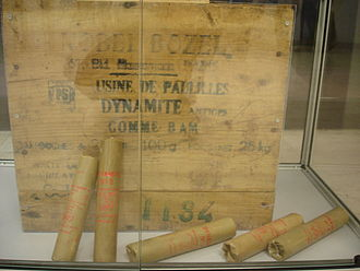 1860s - Alfred Nobel invents dynamite in Sweden, patenting it in 1867