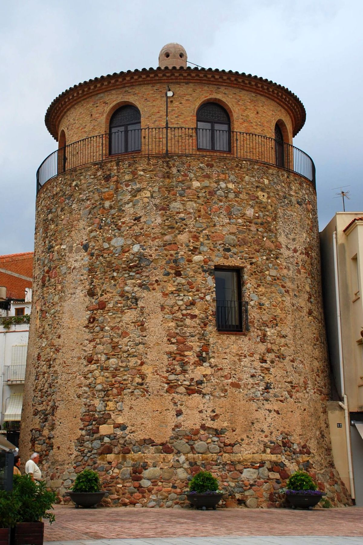 foto de Torre del barri de la Marina Viquipèdia l'enciclopèdia