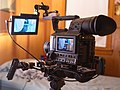 Camcorder with monitor and shoulder rig.jpg