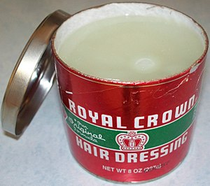 Pomade - A tin of Royal Crown Hair Dressing