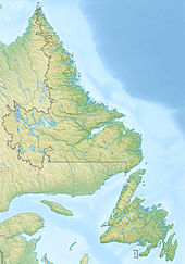 Crash site  is located in Newfoundland and Labrador