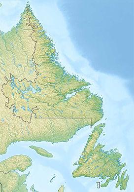 Il monte Caubvick si trova a Terranova e Labrador