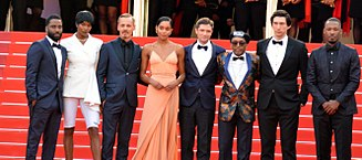 Spike Lee - Lee and his cast promoting BlacKkKlansman at the 2018 Cannes Film Festival