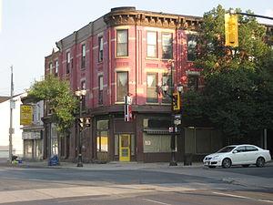 Cannon Street (Hamilton, Ontario) - Cannon at James Street North