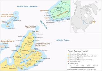 Cape Breton Island - Cape Breton Island, Nova Scotia, Canada