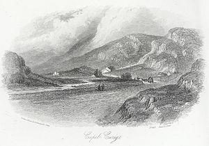 Capel Curig - Unspoilt Capel Curig 1846 by John Harwood