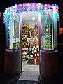 Capillita adornada para la fiesta de la Virgen de Guadalupe en Fracc. Esmeralda, Texmelucan, Puebla.jpg