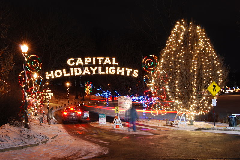 Capital Holiday Lights Entrance