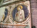 Cappella tocco, zoccolo con affreschi di pietro cavallini 02.JPG