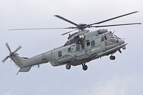 Un EC 725R2 Caracal dell'Armée de l'air nel 2009