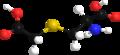 Carbocisteine model 3d.png