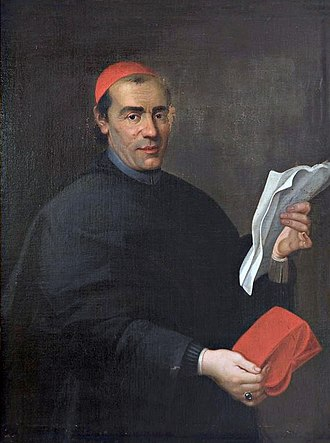 Pope Clement XIV - Cardinal Ganganelli.