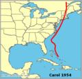 Carol 1954 map.png