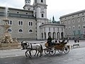 Carriage in Salzburg-Salzburger Dom.jpg