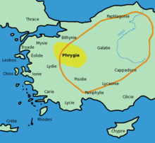 La Carte De Lasie Mineur.Phrygie Wikipedia