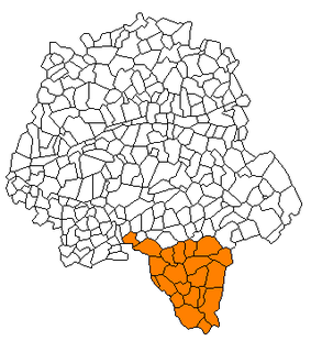 Communauté de communes de la Touraine du Sud Former communauté de communes in Centre-Val de Loire, France