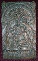 Carving of De Gebort Jesu Christi (The Birth of Jesus Christ). Harwood Church. Photo Phillip Medhurst 2009.jpg