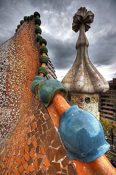 File:Casa batllo roof.jpg