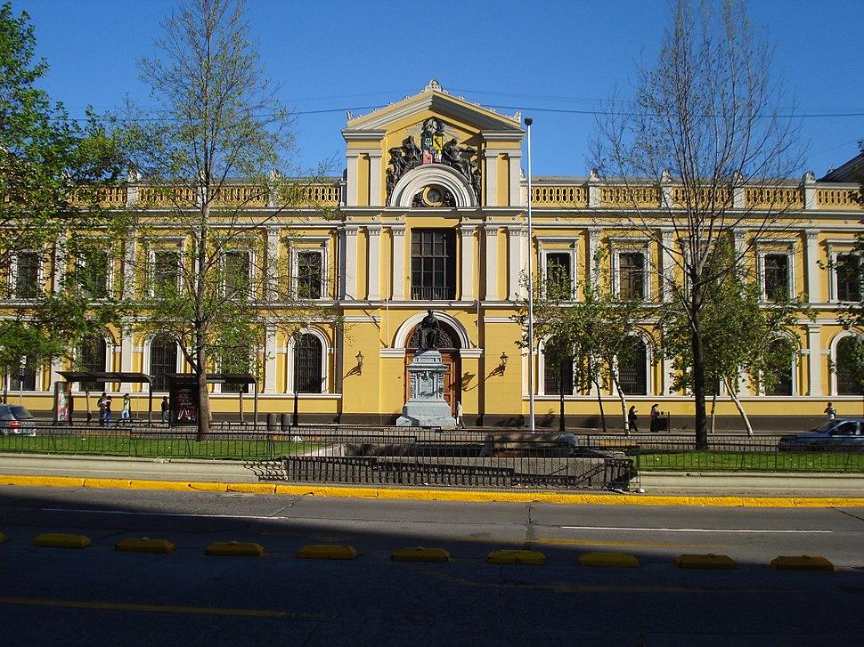 Casa central de la U. de Chile