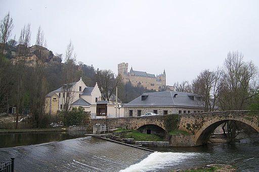 Casa de la Moneda Segovia complejo de edificios lou