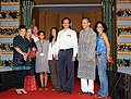 """Cast & Crew of the film """"I am Macro"""" on the Red carpet, at the 43rd International Film Festival of India (IFFI-2012), in Panaji, Goa on November 24, 2012. The Director, IFFI, Shri Shankar Mohan is also seen.jpg"""