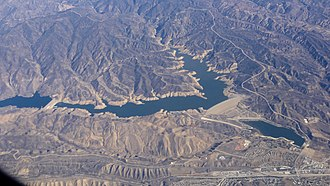 Castaic Lake - Image: Castaic Lake November 2015