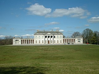 Castle Coole mansion situated in Enniskillen, County Fermanagh, Northern Ireland