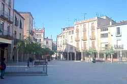 Plaça Major de Santa Coloma de Queralt