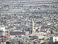 Catedral, Palacio de Gobierno y San Esteban, Desde el mirador del Cristo de las Galeras, Saltillo Coahuila - panoramio.jpg